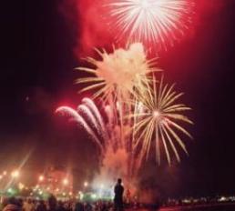 Vuurwerk in Javea