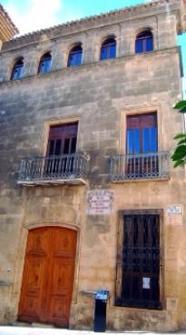 Archeologische en etnografische museum Soler Blasco Jávea Dorp