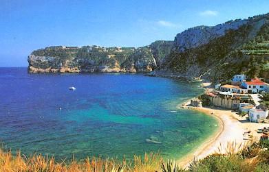 Het strand van Portichol